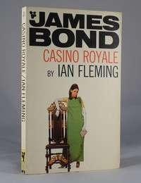 Casino Royale by Ian Fleming.  Pan model / white series