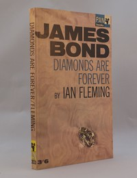Diamonds Are Forever   Pan   Hawkey   X235. This artwork was used for the 12th to 22nd printings