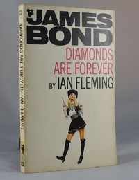 Diamonds Are Forever | Pan | Model. This artwork was used for the 23rd printing 1970