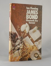Diamonds Are Forever   Pan   Still Life   0 330 10235 4. This artwork was used for the 27th to 29th printings