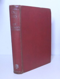 Dr No | Jonathan Cape | Library Binding. Dr No in the red library binding.