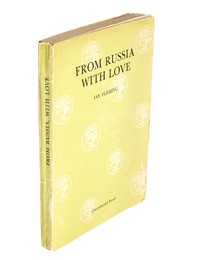 From Russia With Love | Cape | Uncorrected Proof. Uncorrected proof copy of From Russia With Love by Ian Fleming