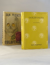 Jonathan Cape | Uncorrected Proof | Goldfinger. Uncorrected proof copy of Goldfinger, only tiny numbers exist with the dust jacket