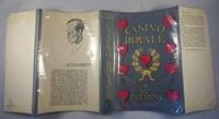 Jonathan Cape Casino Royale 1st edition. First edition, first state dust jacket (no times review)