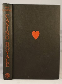 Jonathan Cape Casino Royale 1st edition. This design was used for all editions