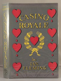 Jonathan Cape Casino Royale 1st edition. This design was used for the first 3 editions