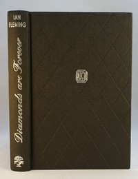 Jonathan Cape | Diamonds Are Forever 1st edition. The design was used for all editions.