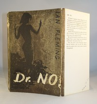 Jonathan Cape | Corrected Proof | Dr No. The corrected proof was a paperback (no dust jacket) with folding flaps.