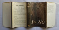 Jonathan Cape | Dr No 1st edition. 1st edition dust jacket.  Later editions have white text to spine.