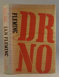 Jonathan Cape | Dr No with later dust jacket. This dust jacket was used from the 11th edition onwards (the example shown has fading to the spine)