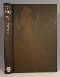 Jonathan Cape | Dr No 1st edition. Edition shown has the dancing girl to the front board, others are blank