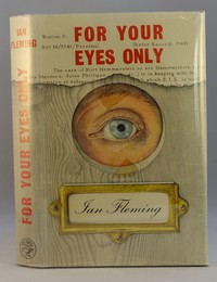 Jonathan Cape | For Your Eyes Only 1st edition. The same dust jacket artwork was used on all editions
