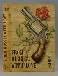 Jonathan Cape | From Russia With Love 1st edition. The same dust jacket artwork was used on all editions