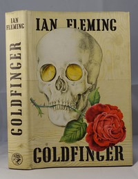 Jonathan Cape | Goldfinger 1st edition. The same dust jacket artwork was used on all editions