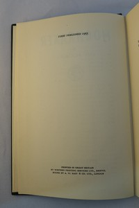 Jonathan Cape | Moonraker 1st edition. 1st edition copyright page