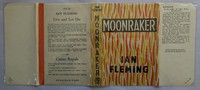 Jonathan Cape | Moonraker 1st edition. The flames on the spine tend to fade, un-faded examples carry a price premium