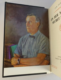 Jonathan Cape | On Her Majesty's Secret Service | Signed Limited Edition. Portrait of Ian Fleming from the painting by Amherst Villiers