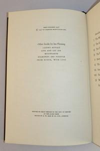 Jonathan Cape | The Diamond Smugglers. 1st edition copyright page