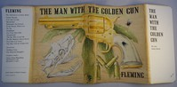 Jonathan Cape | The Man With The Golden Gun. 1st edition dust jacket