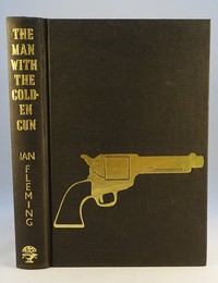 Jonathan Cape | The Man With The Golden Gun. Only a tiny number of the 1st editions had the embossed gun on the cover. Rare and valuable.
