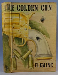 Jonathan Cape | The Man With The Golden Gun. The same artwork was used on all editions
