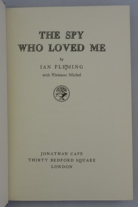 Jonathan Cape | The Spy Who Loved Me 1st edition. Quad mark variant - see notes