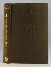 Jonathan Cape   Thunderball 1st edition. The design was used for all editions.
