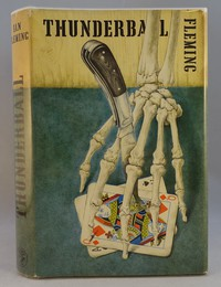 Jonathan Cape   Thunderball 1st edition. The same dust jacket artwork was used on all editions