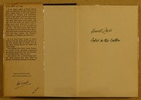Jonathan Cape Live And Let Die 1st edition. A rather nice inscription by Kenneth Lewis the artist on this 2nd state dust jacket