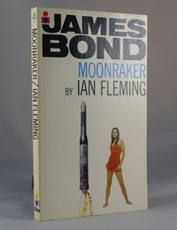 Moonraker | Pan | Model. This artwork was used for the 25th printing (colour pan logo)