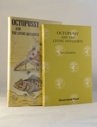 Octopussy | Cape | Uncorrected Proof. Uncorrected proof and dust jacket from Octopussy