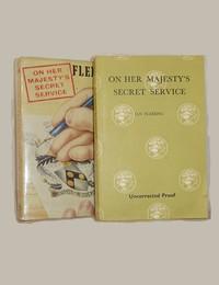 On Her Majesty's Secret Service | Cape | Uncorrected Proof. On Her Majesty's Secret Service.  Uncorrected Proof