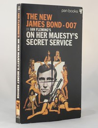 On Her Majesty's Secret Service | Pan | Movie | 330 10350 4. This artwork was used for the 4th to 6th printings