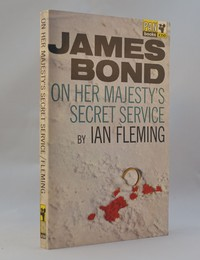 On Her Majesty's Secret Service | Pan | Hawkey | X350. This artwork was used for the 1st to 6th editions