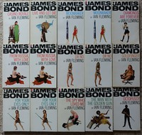 Pan model / white series of James Bond books