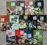 Pan still life series of Ian Fleming James Bond Books