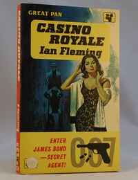Pan   Painted Series   Casino Royale   G198. From the 9th edition the red band was replaced with the yellow one shown.  In this copy 2'6 has been repriced with a sticker.