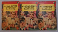 Pan   Painted Series   Casino Royale. There are three pricing variants of the 1st edition, 2' label, 2'printed and unpriced (for export)