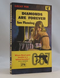 Pan | Painted Series | Diamonds Are Forever 7th. Diamonds Are Forever from the Painted Pan series with the yellow 007 band