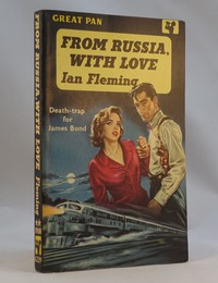 Pan | Painted Series | From Russia With Love 1st edition. This artwork by Peff was used on the 1st to 5th editions.  G229.