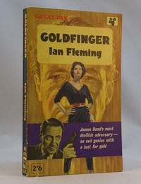 Pan | Painted Series | Goldfinger 1st. This artwork with the purple band was used on the 1st, 2nd and 3rd editions
