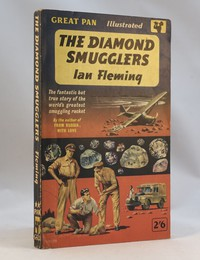Pan | Painted Series | The Diamond Smugglers 1st. This artwork by David Tayler was only used for the 1st editon (G328)
