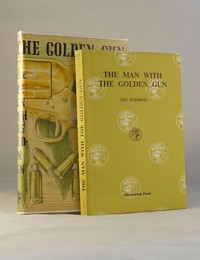 The Man With The Golden Gun | Cape | Uncorrected Proof. Uncorrected proof and dust jacket from TMWTGG