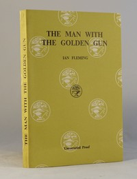 The Man With The Golden Gun | Cape | Uncorrected Proof. Uncorrected proof book