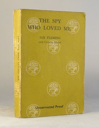 The Spy Who Loved Me | Cape | Uncorrected Proof. `The Spy Who Loved Me uncorrected proof