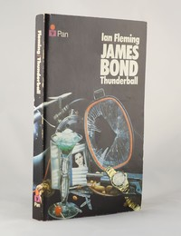 Thunderball | Pan | Still Life | ISBN 0 330 10201 X. The still life artwork design was used for the 15th to 17th printings of Thunderball