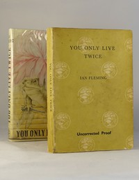 You Only Live Twice | Cape | Uncorrected Proof. You Only Live Twice uncorrected proof and jacket