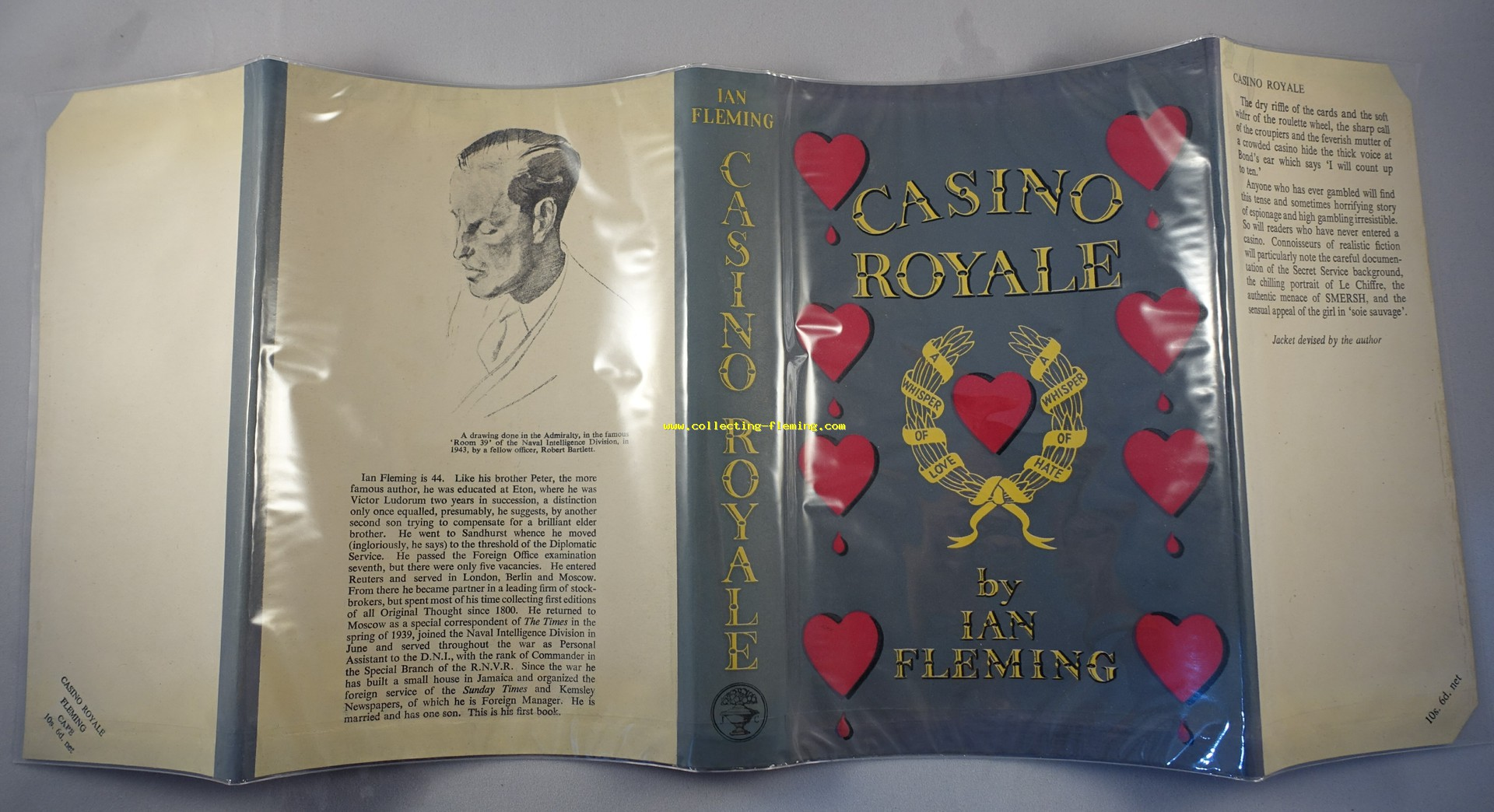 Casino royale ian fleming first edition baccarat tumbler set