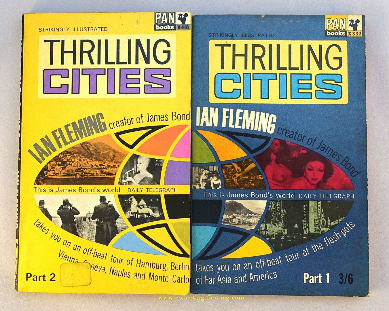 Pan | Painted Series | Thrilling Cities Part 2 (X418 ... |Thrilling Books